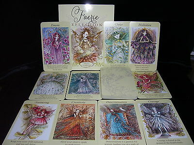 Sealed & Brand New! Faerie Guidance Cards & Book Oracle Set Divination Fantasy