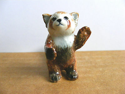 Klima Red Panda Standing Up Miniature Animal Figurine Support Wildlife Rehab