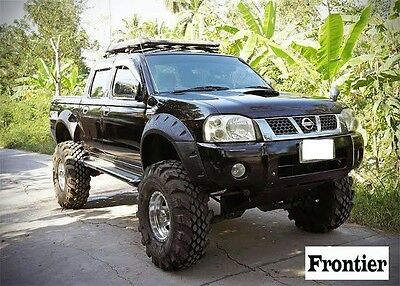 Nissan Navara D22 Double Cab wide wheel arch/extender/Guard/flares