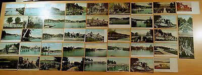 Lot of 43 Antique Postcards ALL WEIRS, NH New Hampshire - Winnipesaukee 19 UDB