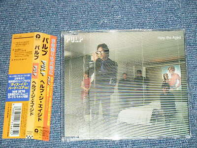 PULP Japan 1998 Original NM Maxi CD+Obi HELP THE AGED from THIS IS HARDCORE