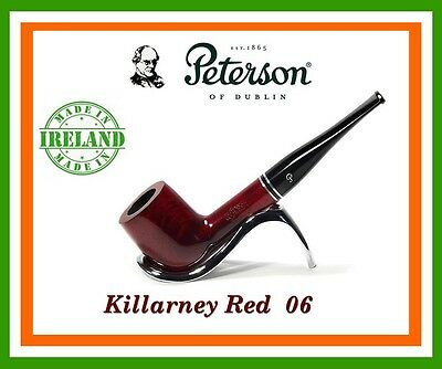 Peterson Killarney Red Briar Pipe (New & Boxed) Shape 06
