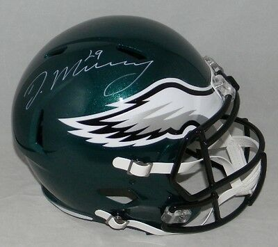 Demarco Murray Autographed Signed Philadelphia Eagles F/s Speed Helmet Jsa