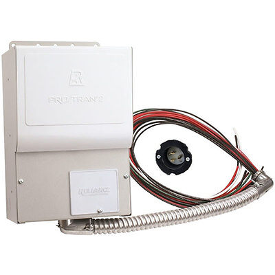 Reliance Controls Pro/Tran 2  - 15-Amp (120V 4-Circuit) Indoor Transfer Switch