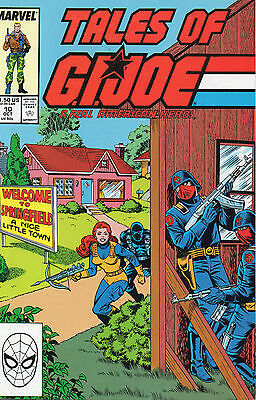 Tales Of GI Joe #10 (VFN)`88 Hama/ Vosburg