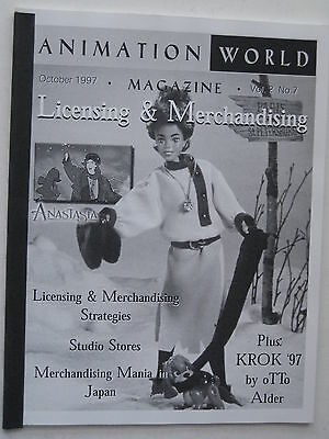 Animation Magazine ANIMATION WORLD V#2 #7 - Licensing & Merchandising - Oct 1997