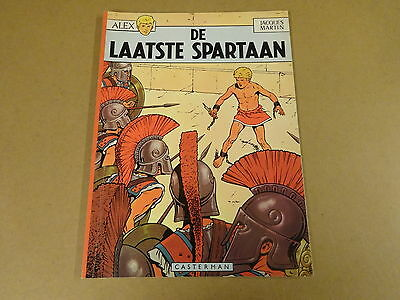 Strip / Alex - De Laatste Spartaan