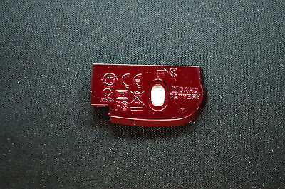 Nikon Coolpix L22 Battery Chamber Unit Cover / Door OEM Red A0704