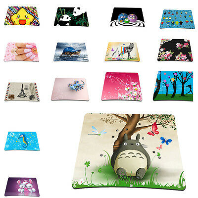 Custom Designs Anti-Slip Laptop Mice Pad Mat Mouse pad For Optical Laser Mouse