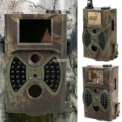 1080P HD 12MP Hunting Scouting Trail Camera Game Security IR LED MMS SMS C8