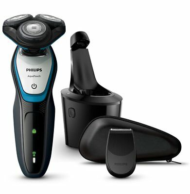 Philips S9111/43 Series 9000 Wet/Dry Shaver Smart Click Precision Trimmer+Brush