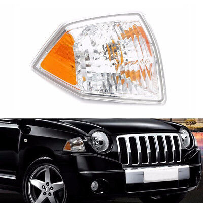 Right Side Parking Side Marker Turn Signal Corner Light For Jeep Compass 07-10
