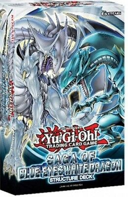 Yu-Gi-Oh! STRUCTURE DECK SAGA OF BLUE EYES WHITE DRAGON deutsch