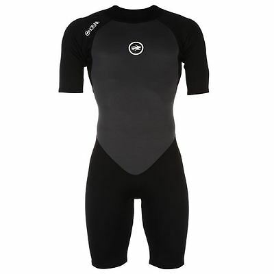 Hot Tuna Mens Shorty Short Sleeve Wetsuit Shorties Clothing Wear