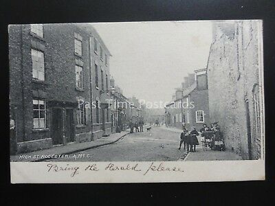 Staffordshire ROCESTER High Street c1904 by A. Mc Cann of Uttoxeter