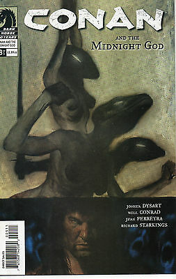 Conan And The Midnight God #3 (NM)`07 Dysart/ Conrad