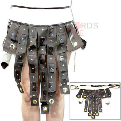 Roman General Agrippa Studded War Belt Medieval Pleather Uniform Skirt Uniform