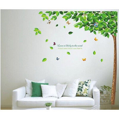 Love Tree Wall Stickers Removable Decals Home Decor Art Kids Nursery Mural New