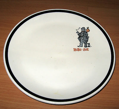 Vintage 1960's Hobo Joe's Joe Coffee Shop Arizona Restaurant  Plate Alox Coor