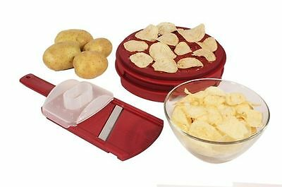2er Set ChipsBlizz Kartoffelchips Chips Maker Mikrowellen Chipsmaker fettfrei