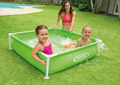 Intex Frame Pool Planschbecken grün Kinderpool 122x122cm *Top-Artikel*