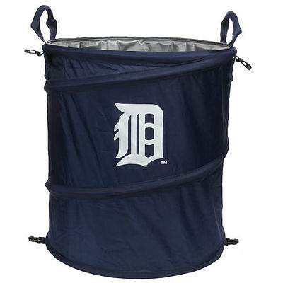 Detroit Tigers Collapsible 3-in-1 Trashcan Cooler - MLB