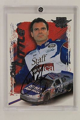 NASCAR Driver CHAD LITTLE Autographed Signed 2002 WHEELS Card #41 w/ Holder
