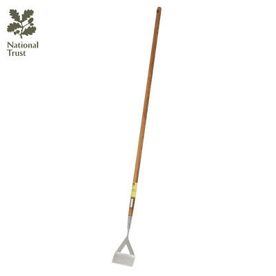 Bentley National Trust Gardening Tools Fsc Wood Handle Stainless Steel Dutch Hoe