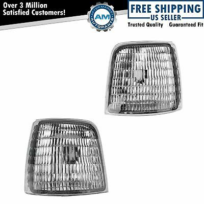 OEM Corner Marker Light Lamp Pair LH & RH Sides for Ford Bronco F150 F250 F350