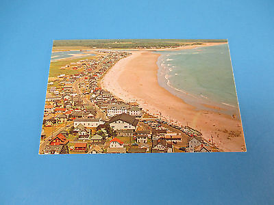 Wells Beach Maine Vintage Colorful Postcard Unused PC16