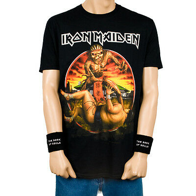 IRON MAIDEN 2016 Book Of Souls Japan Tour Event T-shirt Size M NEW