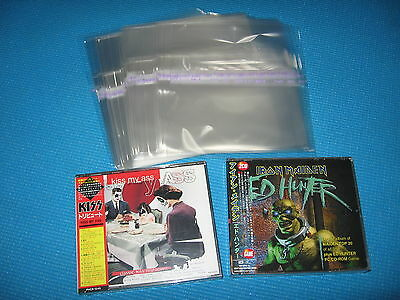High Quality OPP Resealable Plastic Bag 25 for Double Sized Jewel Case Japan