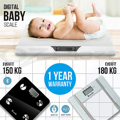 Electronic Digital Body Fat Scale Infant Baby Scales Bathroom Gym Weight LCD