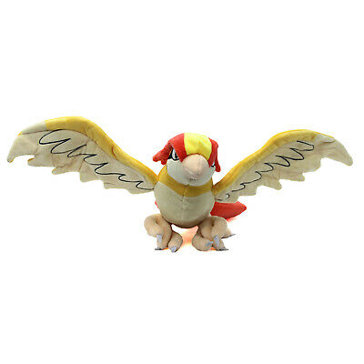 "Pokemon 12"" Plush - PIDGEOTTO New 12 Inch Pigeon (Red Blue) Stuffed Plushie"