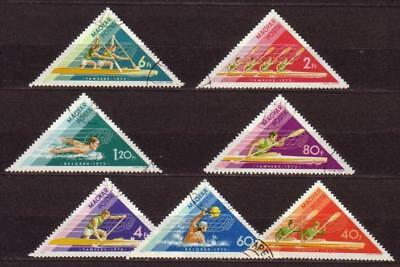 Sport Hungary Magyar 7 stamps 1973