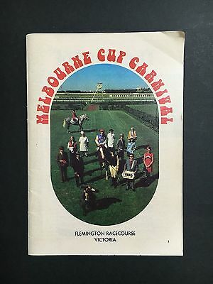 Melbourne Cup Carnival Small Book From 1973, 64 Pages