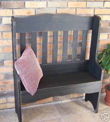 Wooden Plantation Bench PATTERN & INSTRUCTIONS  Lovely