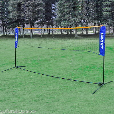 500 X 155CM Outdoor Volleyball Badminton Football Tennis Net W/ Carrying Bag