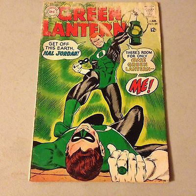 GREEN LANTERN #59 DC Comics Silver Age Key Issue 1st Appearance of GUY GARDNER