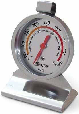 CDN DOT2 ProAccurate Stainless Steel Temperature Oven Thermometer NSF Certified