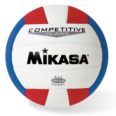 Mikasa Competitive Class Indoor Volleyball Synthetic Leather Ball USA Color