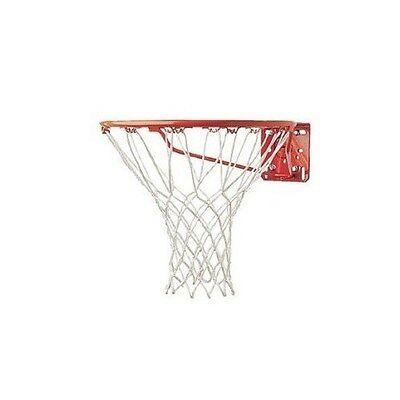 Champion Sports 4mm White Economy 12 Inch Replacement Basketball Net 12 Loops