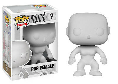 Funko Pop Custom DIY Do It Yourself: Female Vinyl Action Figure Collectible Toy