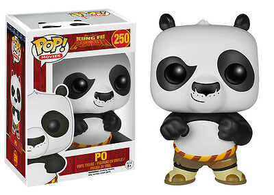 Funko Pop Movies Kung Fu Panda Po Vinyl Action Figure 4560 Collectible Toy 3.75""