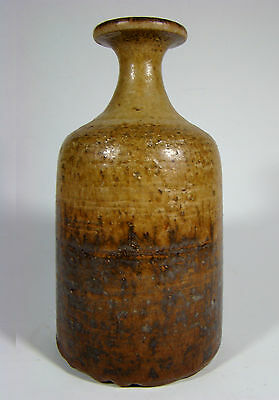 Kunstkeramik Vase - RUDI STAHL - signed German Bottle Studio Pottery 60´s