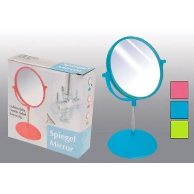 Retro Makeup mirror Colour Stand Tabletop Adjustable Haircutting