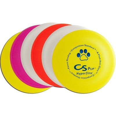 Hyperflite Pup Competition Standard Dog Disc Six Pack - Set Of 6 Assorted Colors