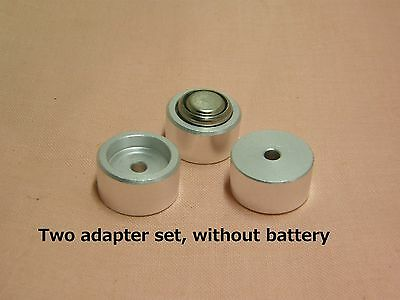 Two BATTERY ADAPTER HM-N NR52 for Yashica electro 35GX Himatic F Fujica 35