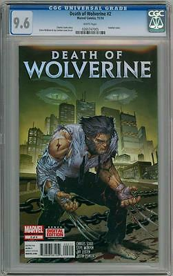 Death Of Wolverine #2 First Print Cgc 9.6 Marvel Comics