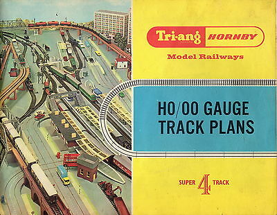 Triang Hornby Super 4 Track Plans - 1966